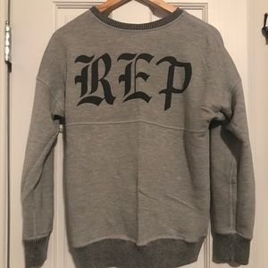 Taylor swift reputation reversible terry pullover